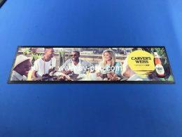 AY Hot Selling New Custom Nitrile Rubber Beer Bar Spill Mat